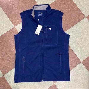 Southern shirt navy lightweight vest sm